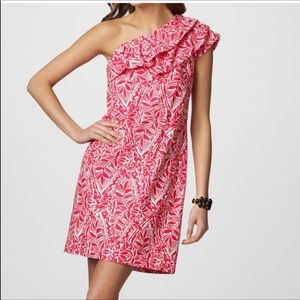 Lily Pulitzer off shoulder dress